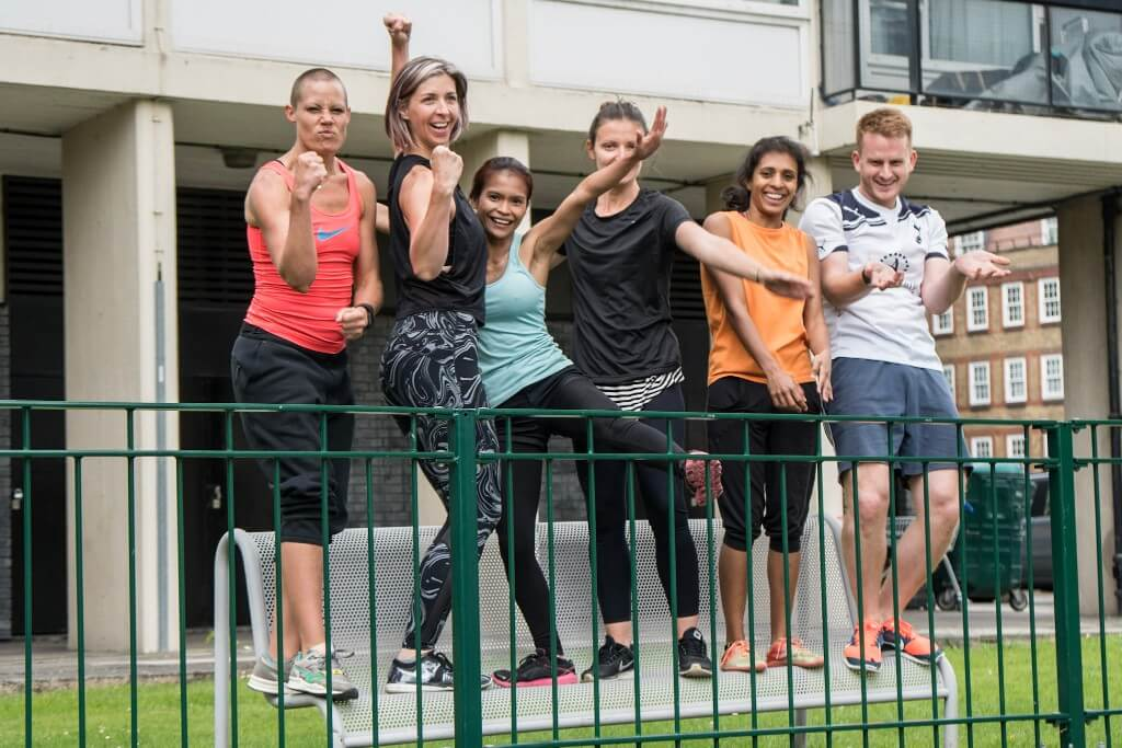 outdoor movement training London