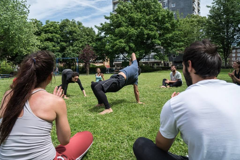 Movement training beginners london